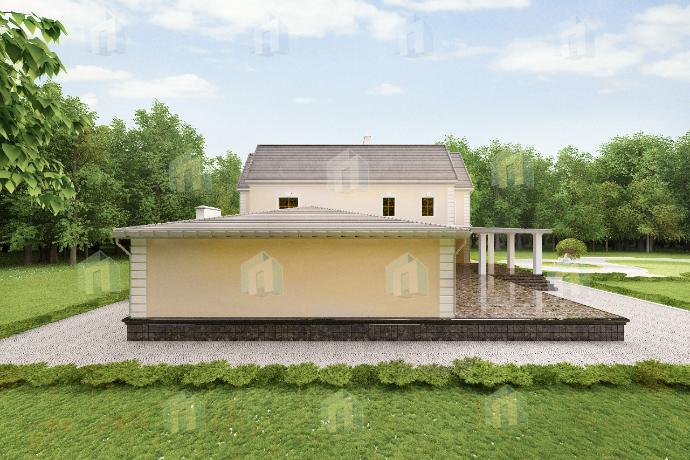 3д проекты домов