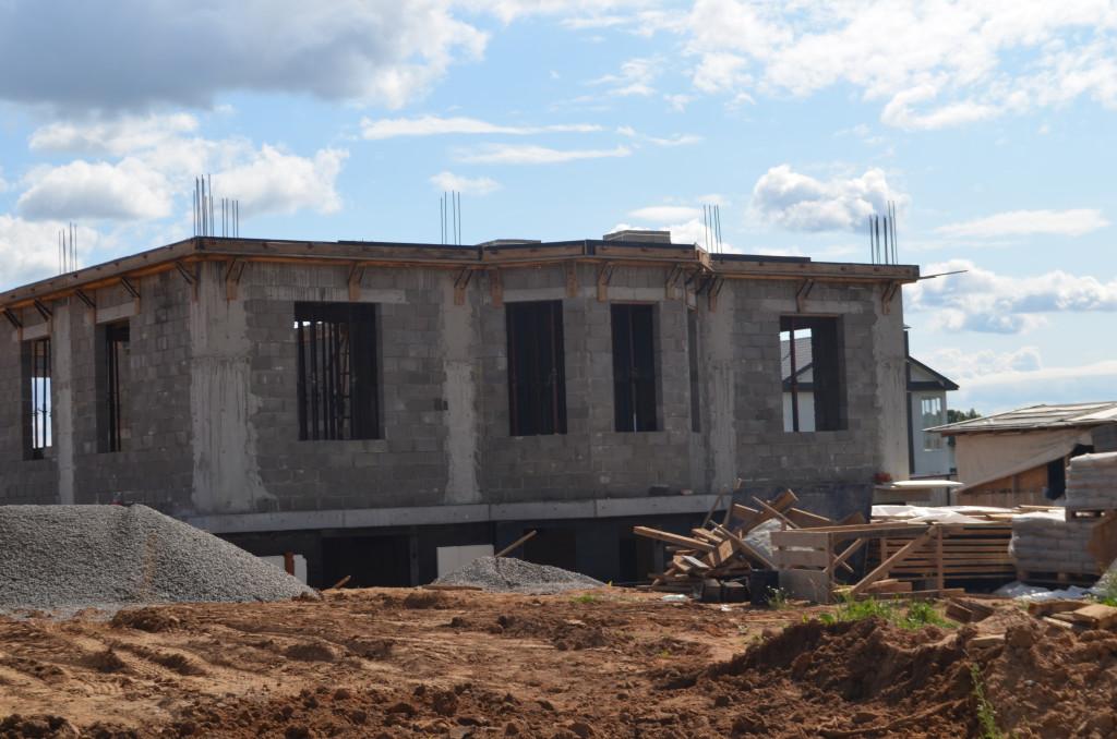 строительство домов из пескобетона