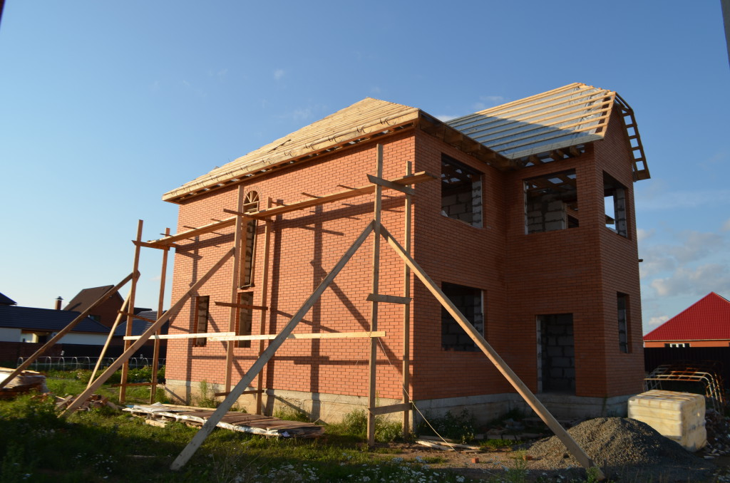 строительство домов из пенобетона в москве