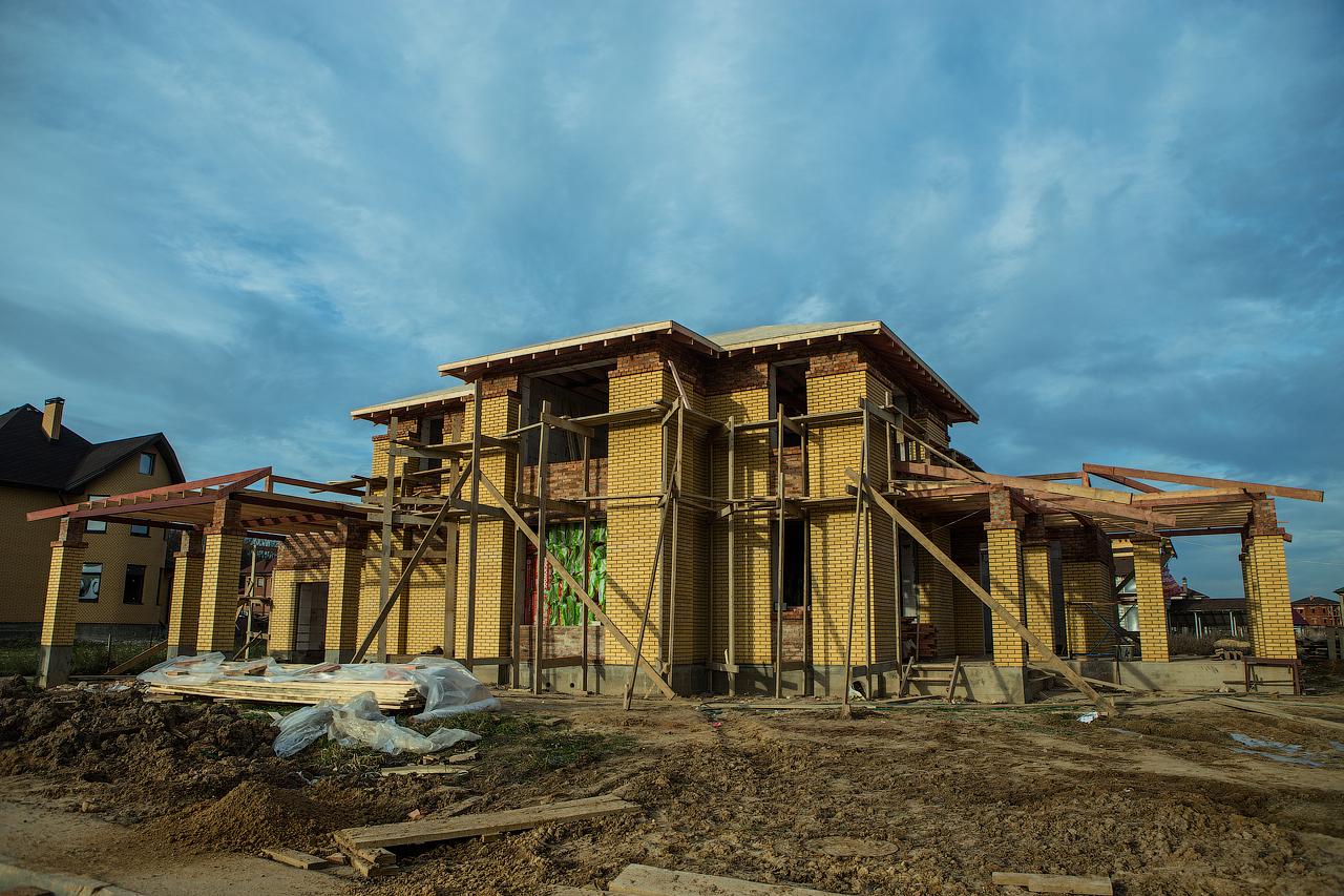 строительство домов из газобетона в
