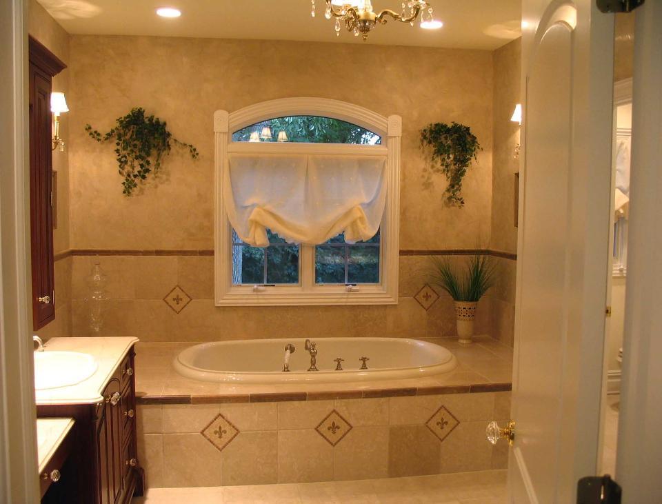 ванная с венецианской штукатуркой