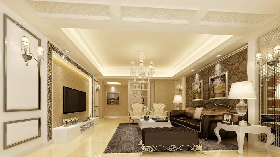 Потолок в классическом стиле фото