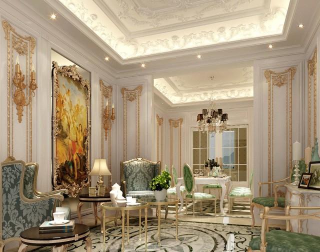 дизайн интерьера богатый