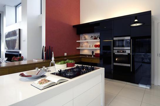 коттедж в стиле хай тек кухня
