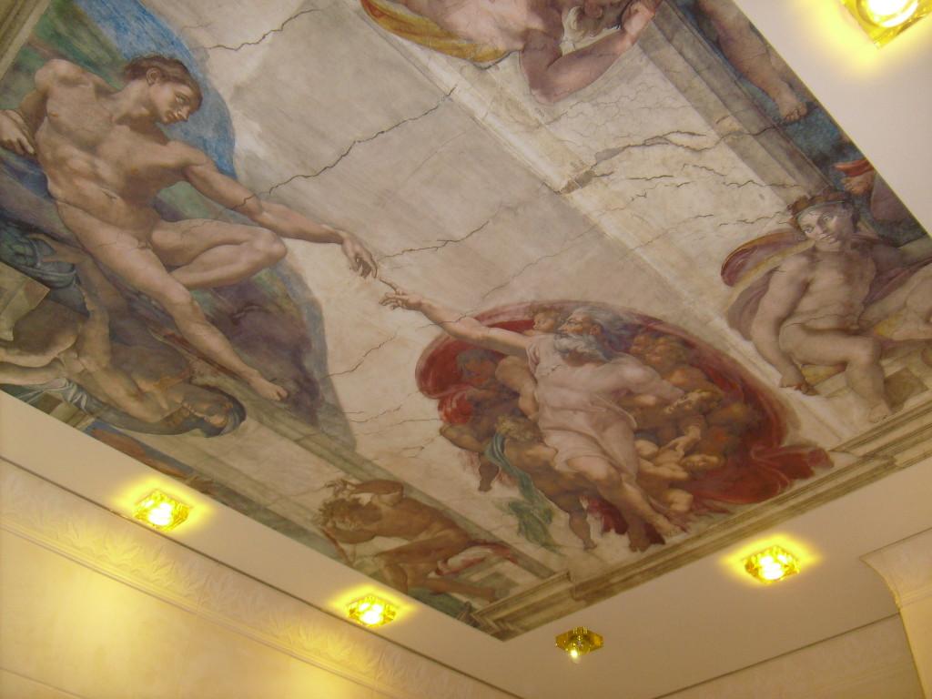 натяжные потолки рисунок