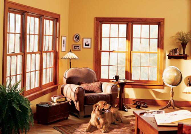 окна деревянные в квартире
