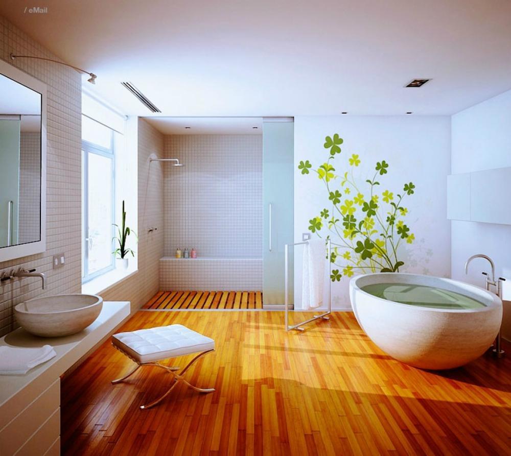 паркет ванная