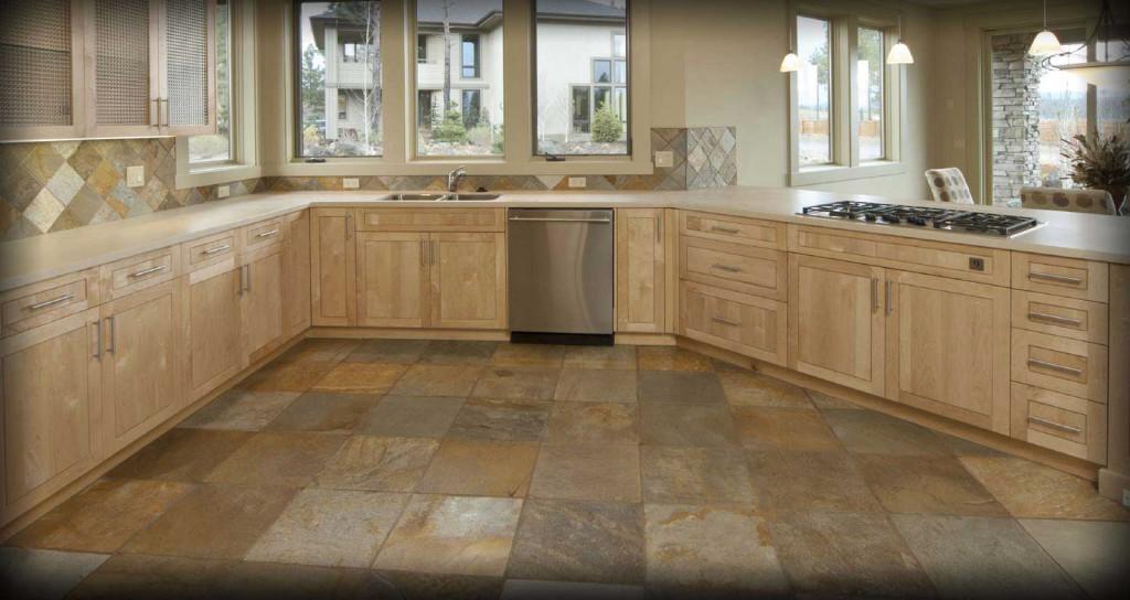 плитка квадратная пол кухня