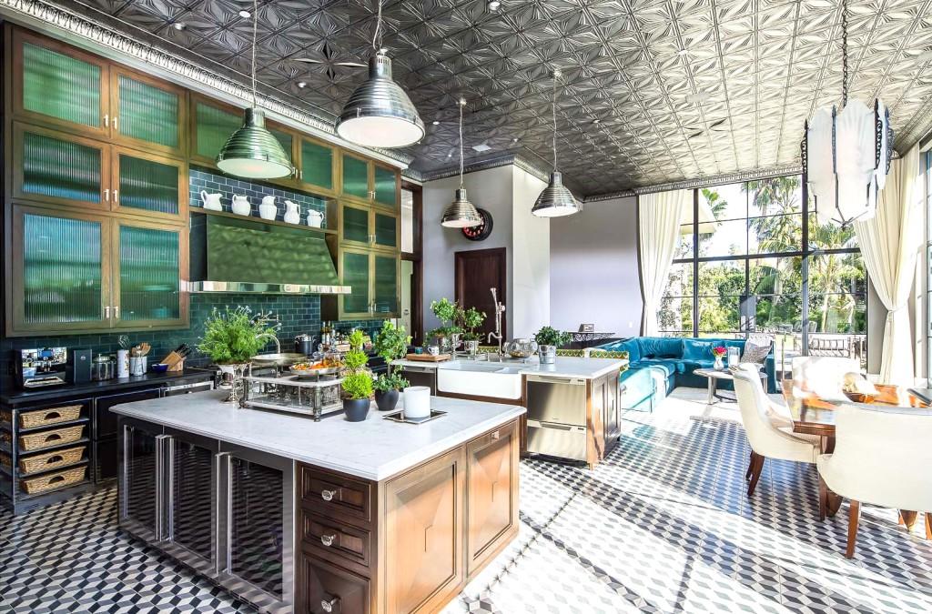 плитка напольная кухня