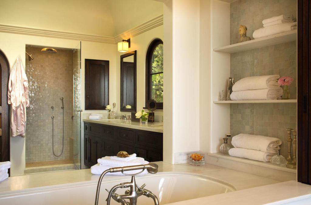 ванная в колониальном стиле