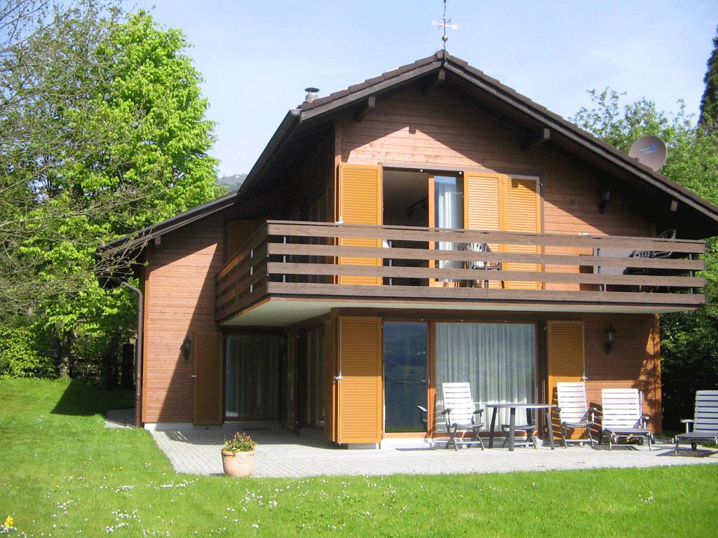 дом деревянный кантри