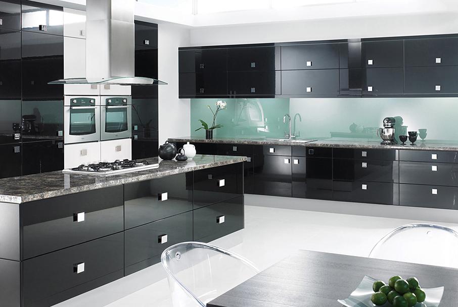 интерьер модерн кухня