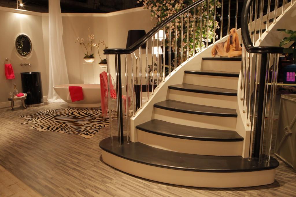 лестница полукруглые ступени