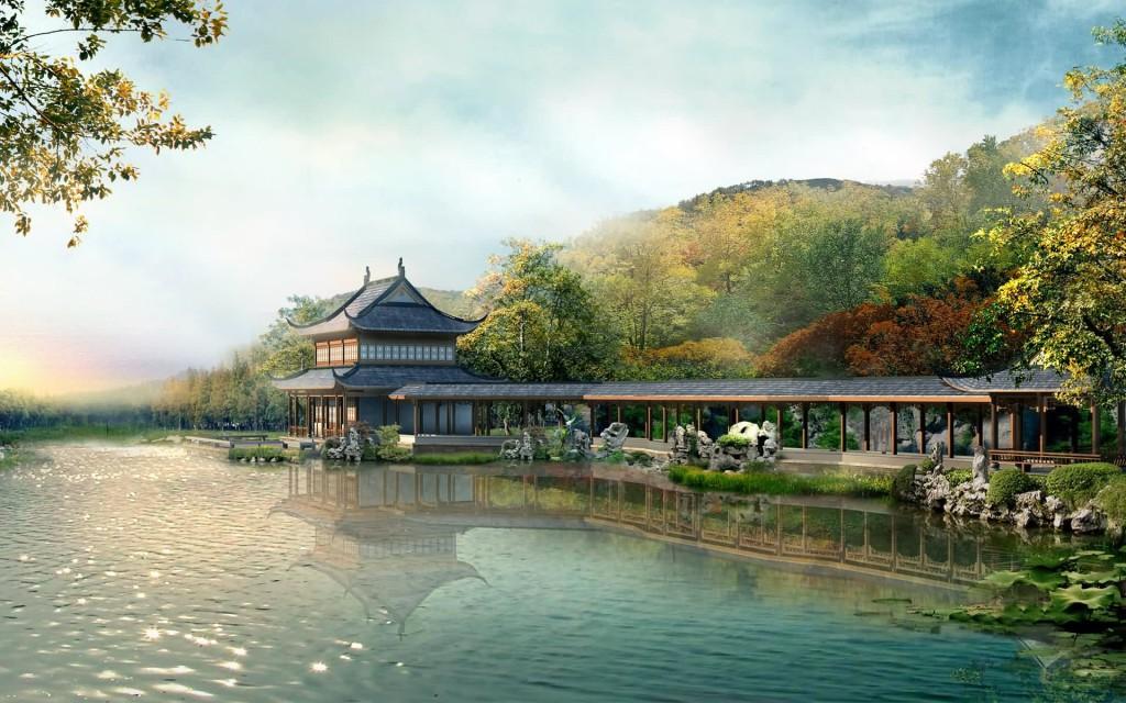 дом японский