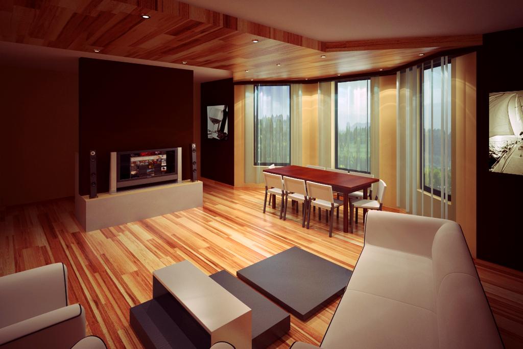 интерьер квартиры многоуровневые потолки