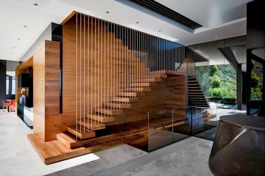 интерьер многоуровневые потолки лестница