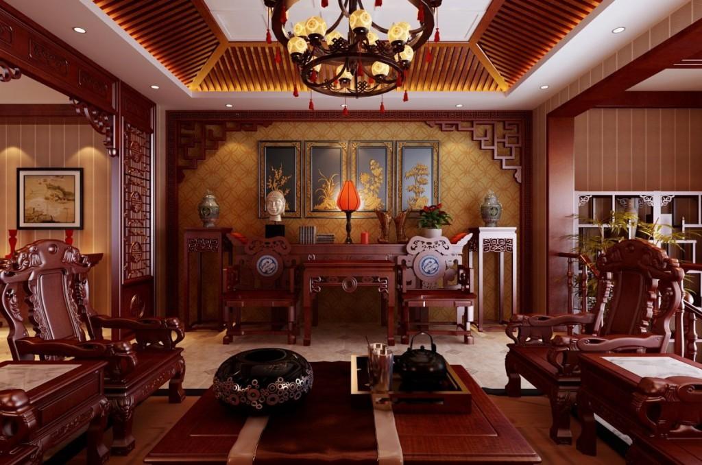 коттедж в китайском стиле