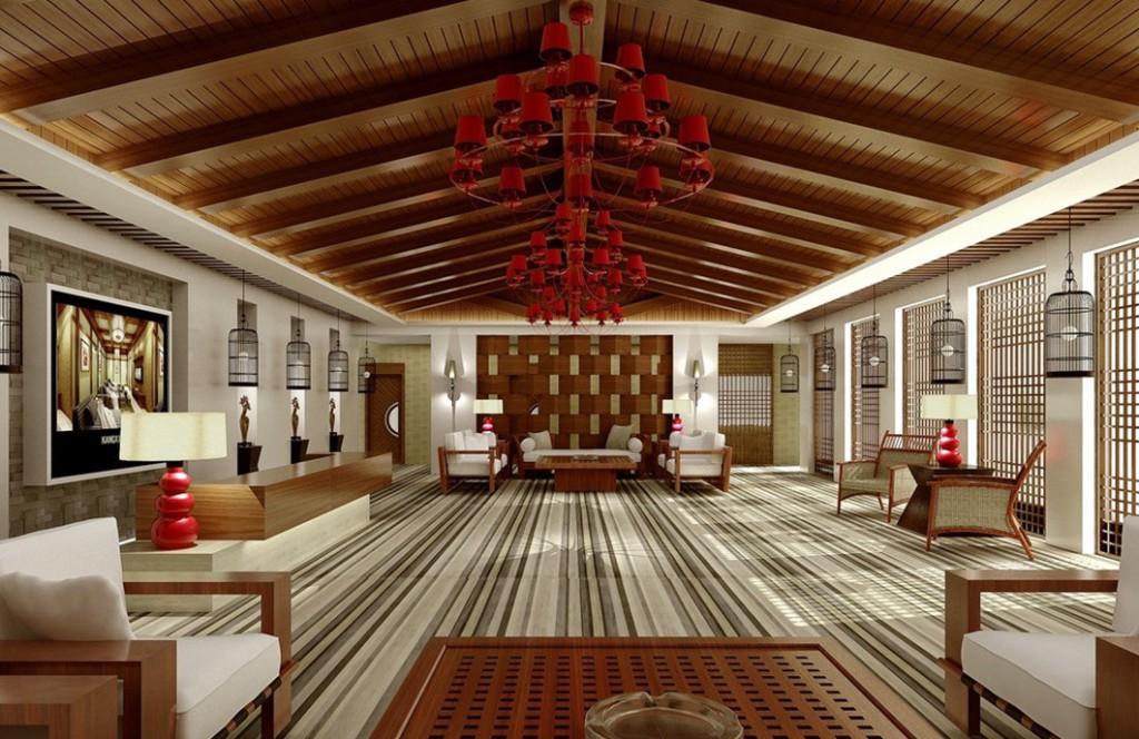 помещение в китайском стиле