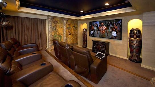 домашний кинотеатр египетский стиль