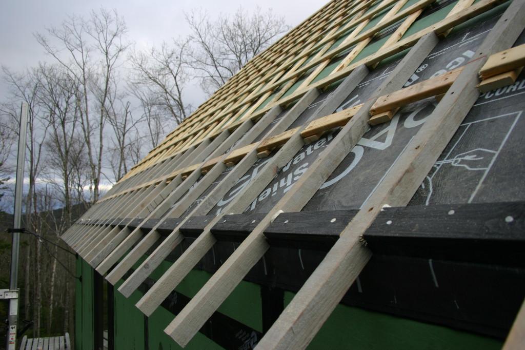 стропила наклонная крыша