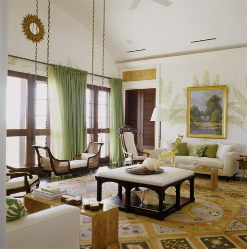 светлая гостиная египетский стиль