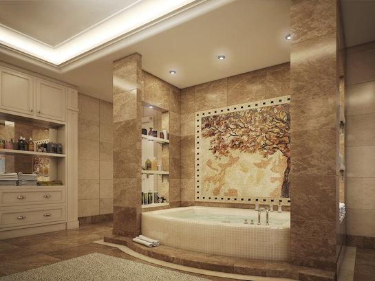 ванная египетский стиль