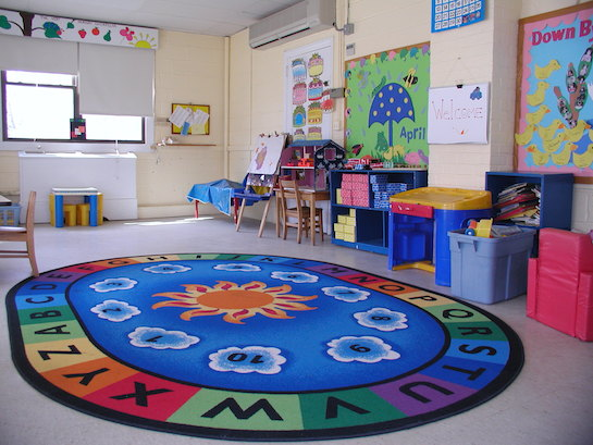 детская комната просторная
