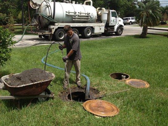 откачка канализации