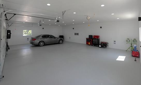 наливной пол гараж
