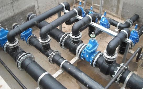 система водопроводных труб
