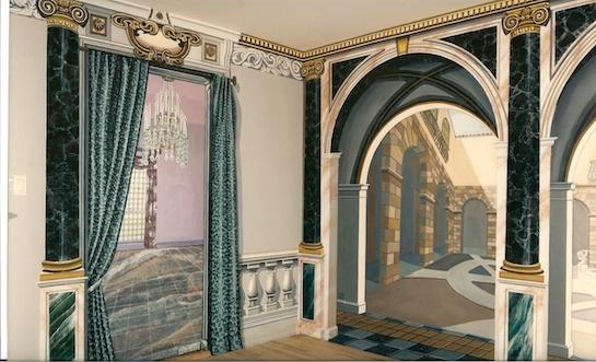 фотообои арки колонны