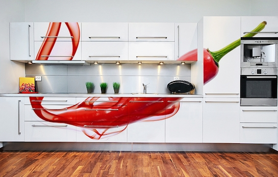 фотообои кухонный гарнитур
