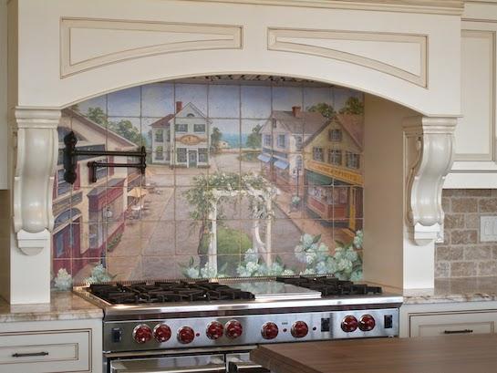 фотообои кухонные