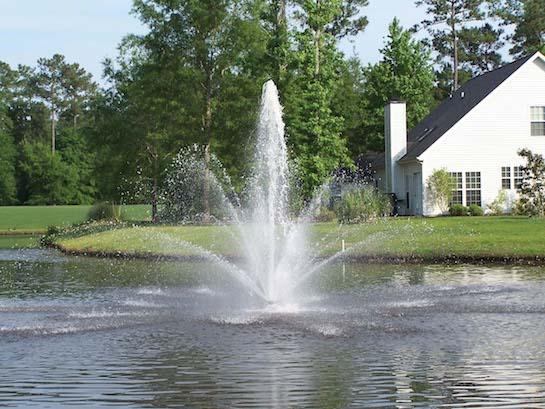 фонтан озеро