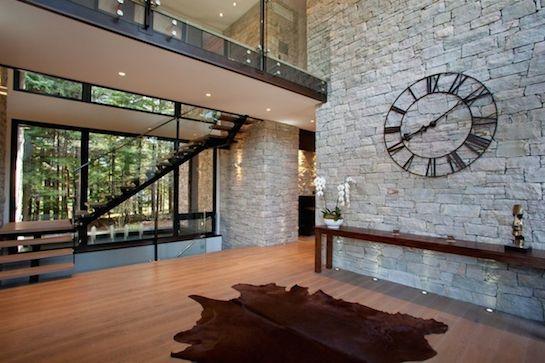 часы настенные металлические прозрачные