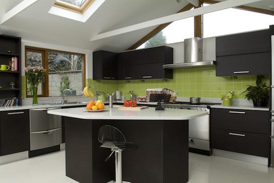 кухня интерьер с вентиляцией