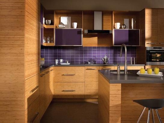 кухонная мебель бамбук