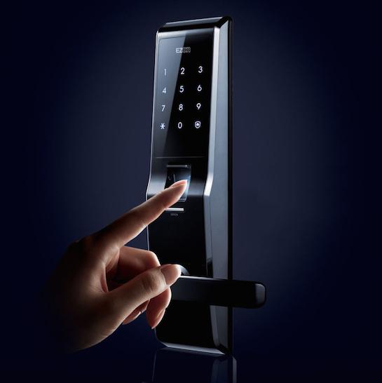 замок сенсорный отпечаток пальца