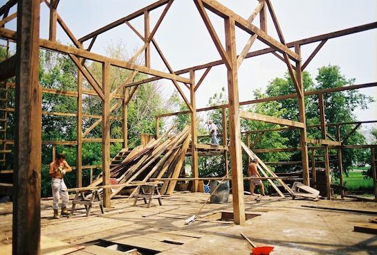 разборка деревянного здания