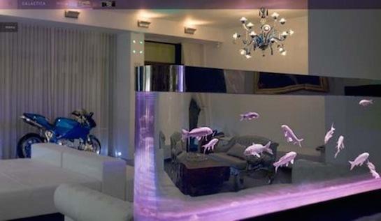 аквариум с подсветкой