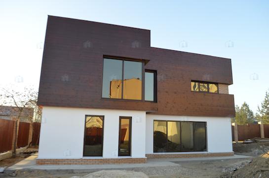 строительство дома хай тек