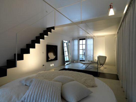 лофт спальня