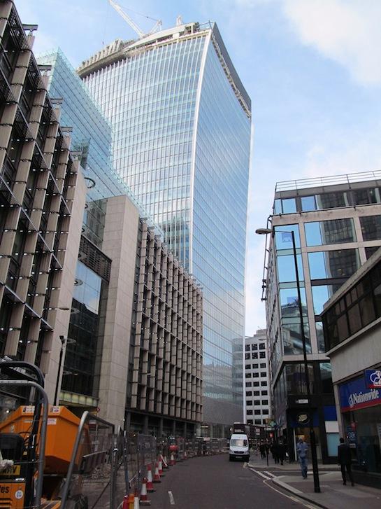небоскреб лондон