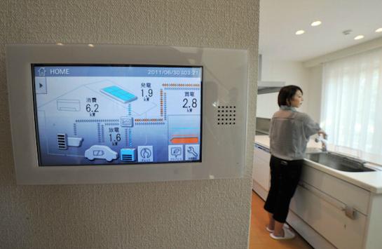умный дом монитор
