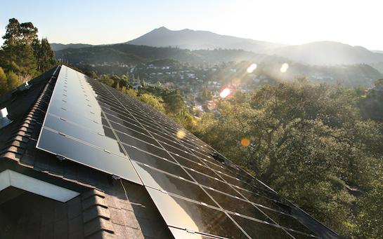 солнечные батареи крыша