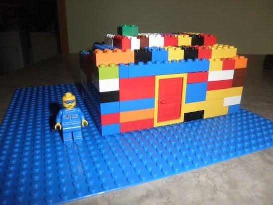 домик лего