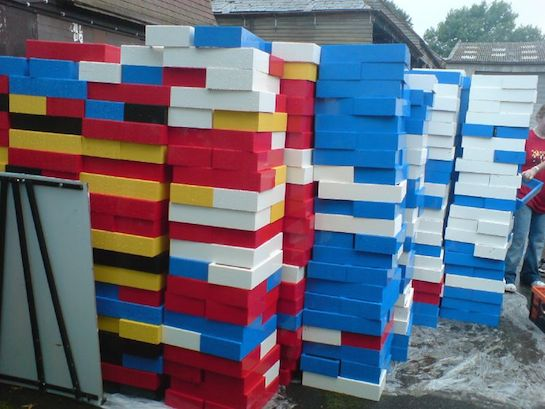 разноцветные кирпичи lego