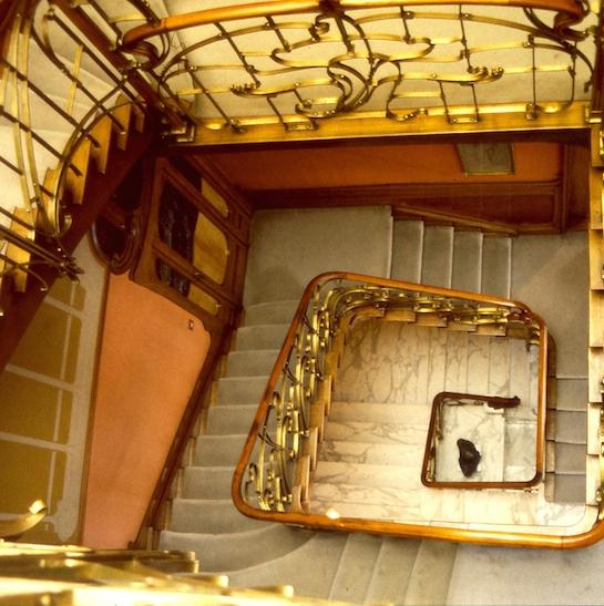 лестница ар нуво