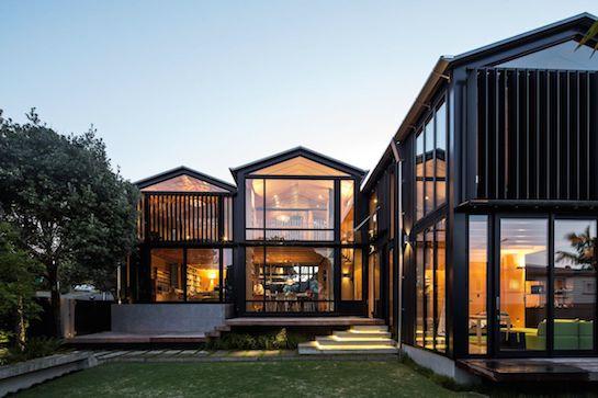 стеклянные дома