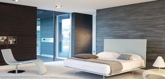 минимализм спальня
